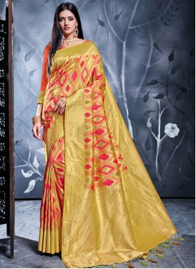 Multi Colour Reception Classic Saree