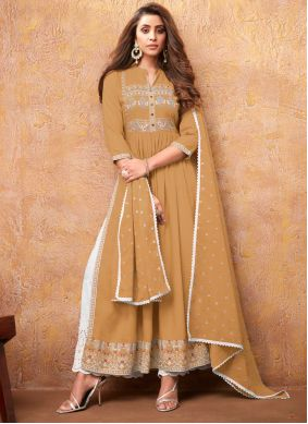 Mustard Color Readymade Suit