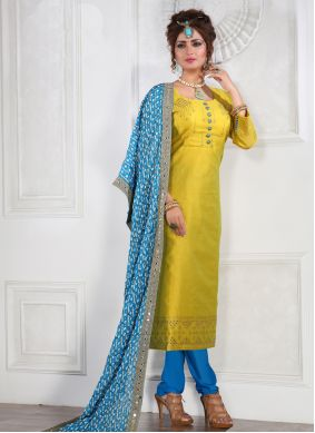 Mustard Color Salwar Suit
