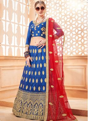 Mystic Embroidered Sangeet Lehenga Choli