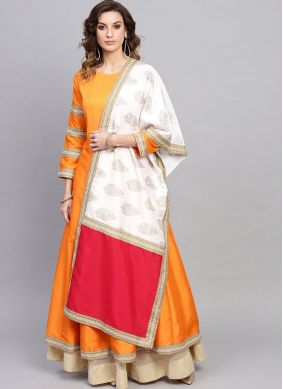 Opulent Fancy Yellow Party Wear Kurti