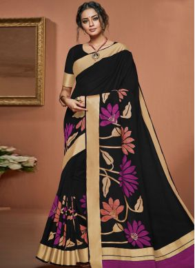 Paramount Art Silk Traditional Designer Saree
