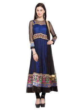 Patchwork Festival Readymade Anarkali Salwar Suit