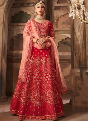 Peppy Banarasi Silk Wedding Designer Lehenga Choli