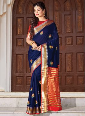 Phenomenal Cotton Classic Designer Saree