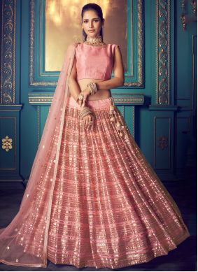 Pink Color Lehenga Choli