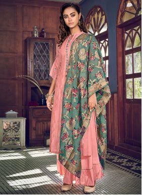 Pink Festival Designer Suit