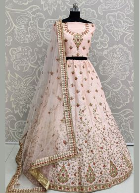 Pink Party Lehenga Choli