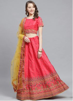 Pink Wedding Trendy Lehenga Choli