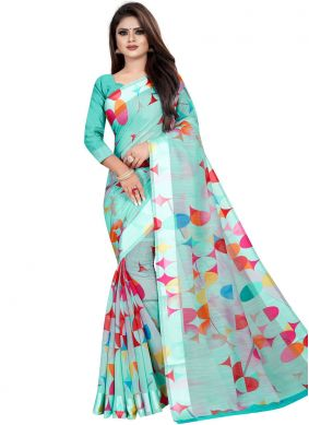 Pleasance Printed Saree For Festival
