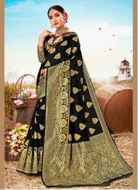 Poly Silk Weaving Classic Saree