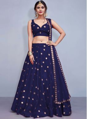 Pretty Sequins Sangeet Readymade Lehenga Choli