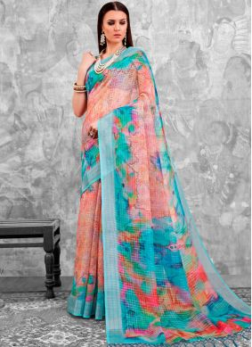 Prime Printed Saree For Party