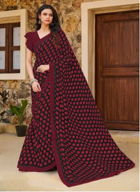 Print Multi Colour Weight Less Traditional Saree
