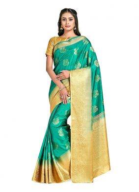 Printed Art Silk Designer Traditional Saree