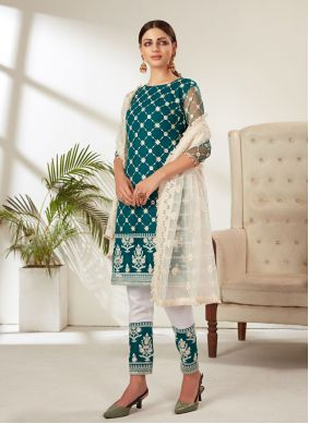 Rama Embroidered Pant Style Suit