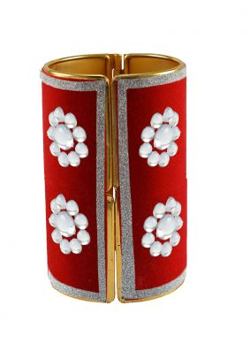 Red Color Bangles