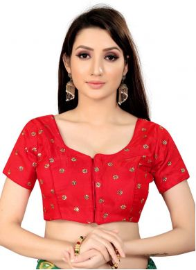 Red Color Blouse