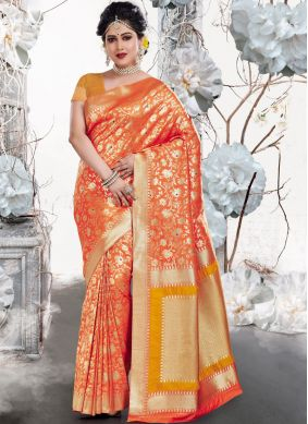 Remarkable Art Silk Weaving Traditional Saree