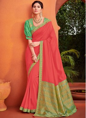 Remarkable Patch Border Traditional Saree