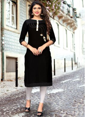 Renowned Cotton Party Wear Kurti