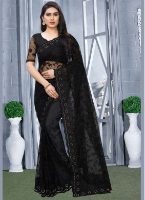 Resham Reception Classic Designer Saree