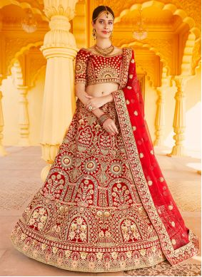 Resham Wedding Lehenga Choli