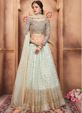 Royal Blue Wedding Lehenga Choli