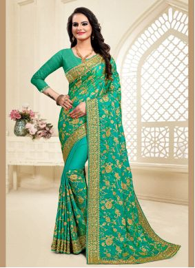 Satin Silk Reception Classic Saree