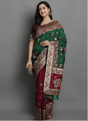 Silk Patola Print Designer Traditional Saree