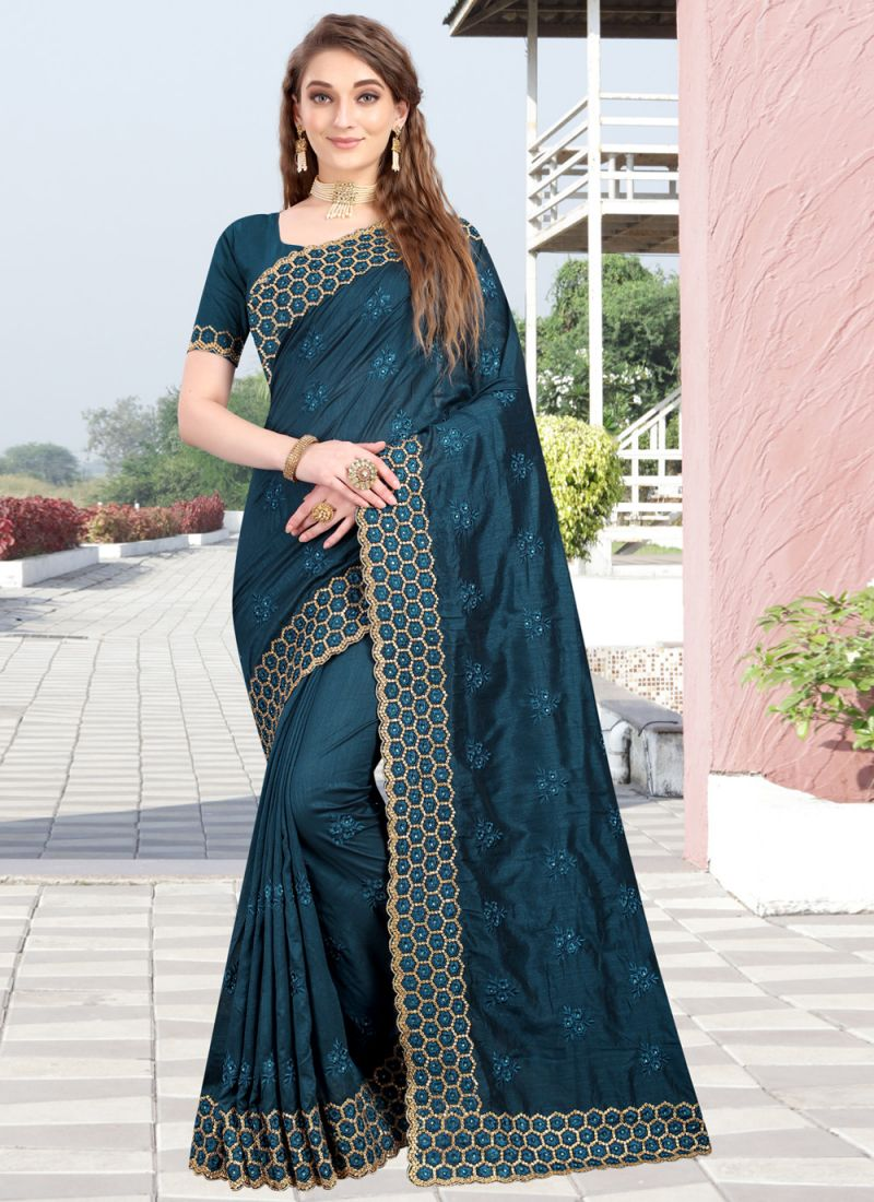 Silk Reception Designer Traditional Saree