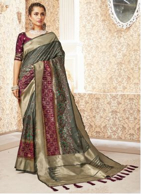 Silk Weaving Designer Saree