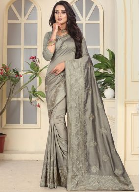 Simplistic Art Silk Wedding Designer Traditional Saree
