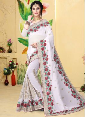 Snazzy Designer Saree For Ceremonial