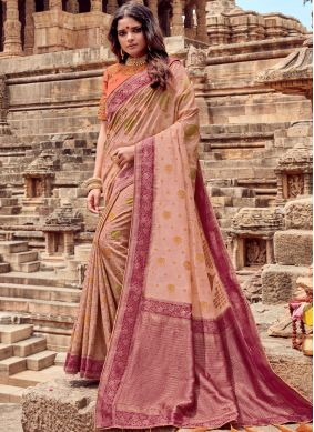 Sonorous Viscose Resham Traditional Saree