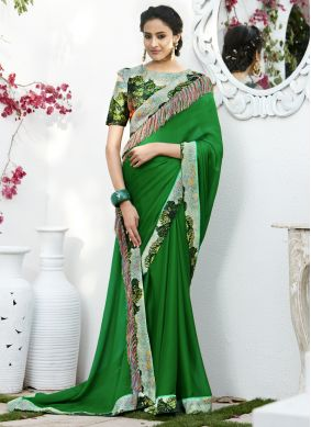 Sophisticated Classic Saree For Festival