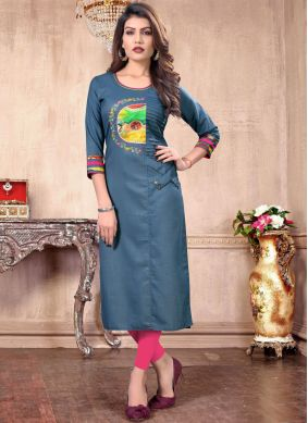 Specialised Printed Cotton Casual Kurti