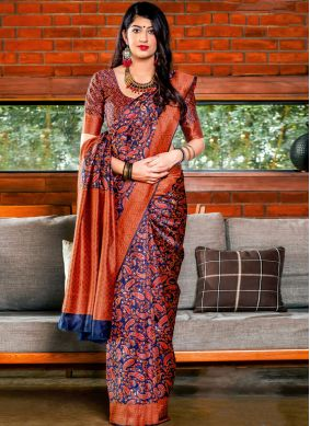 Spellbinding Designer Saree For Ceremonial