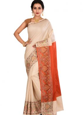 Spellbinding Designer Traditional Saree For Sangeet