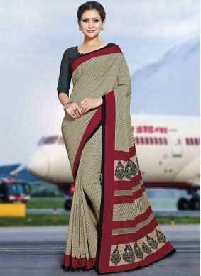 Splendid Printed Casual Saree