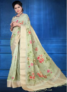 Sterling Art Silk Digital Print Printed Saree