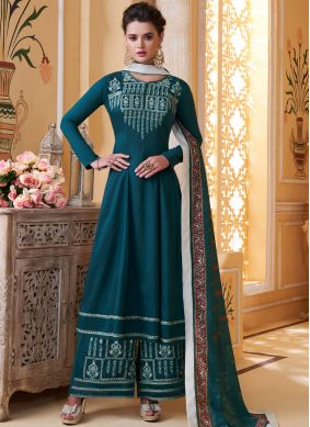 Sterling Muslin Embroidered Readymade Suit