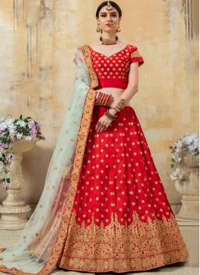 Subtle Embroidered Lehenga Choli