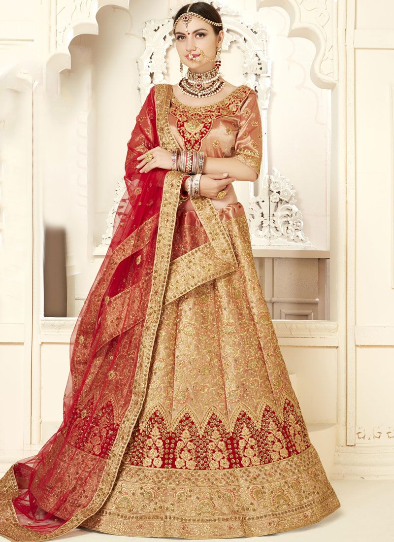 Subtle Silk Embroidered Designer Lehenga Choli