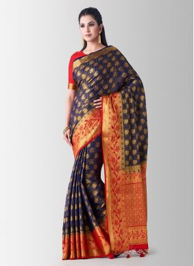 Sumptuous Zari Art Silk Designer Traditional Saree