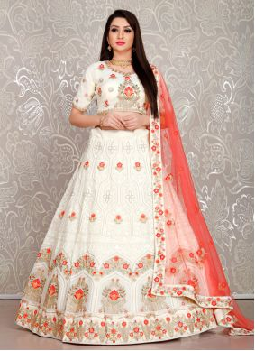 Thread Georgette Designer Lehenga Choli