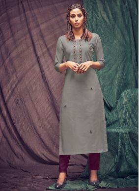Thread Party Party Wear Kurti
