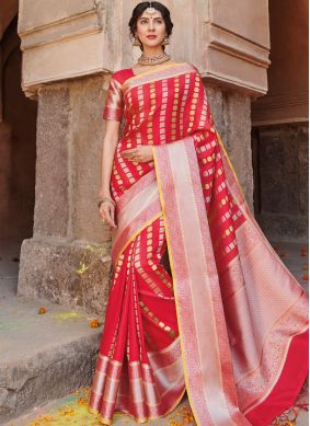 Transcendent Art Silk Traditional Designer Saree