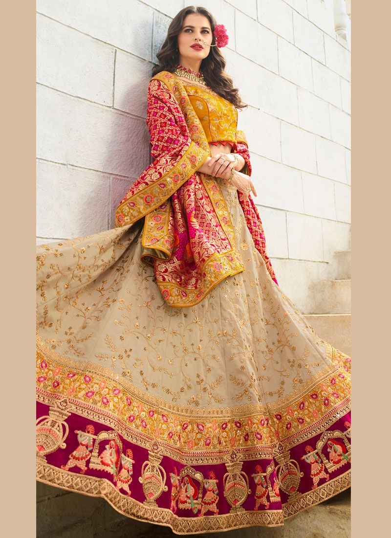Trendy Lehenga Choli For Bridal