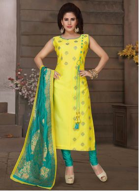 Trendy Salwar Suit For Mehndi